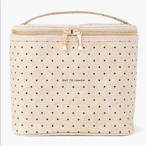 "NWOT Kate Spade ""OUT TO LUNCH"" Lunch Pail"